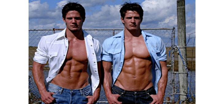 Eineiige Zwillinge. schwul?