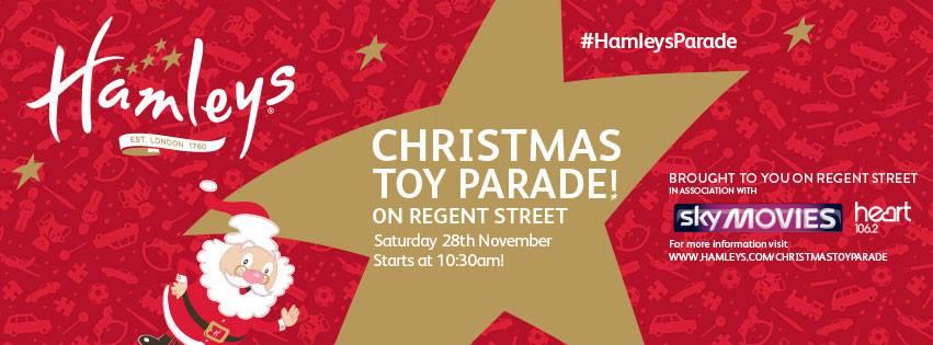 Un défilé de Noël féérique avec la Christmas Toy Parade sur Regent Street