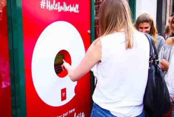 Le distributeur de donuts au Nutella à Holborn, on en parle ?