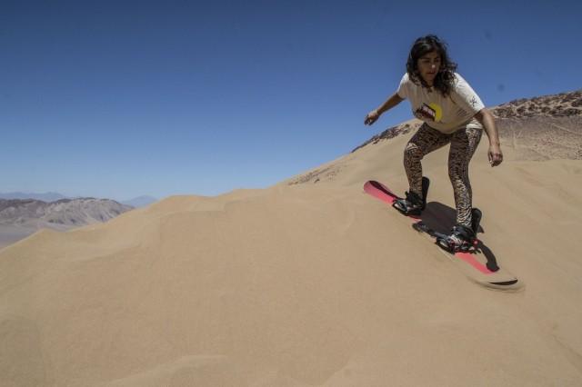 La guía de las arenas del desierto