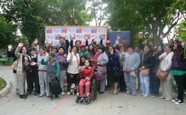 Escuela Especial de Melipilla inicia gira de estudio