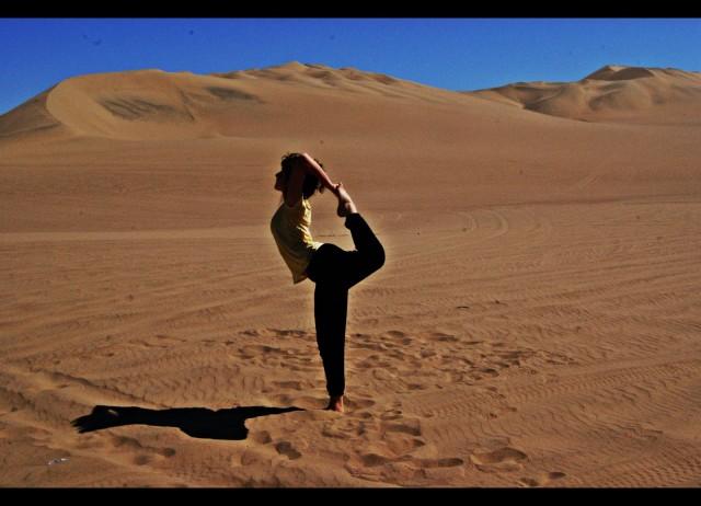 Yoga en las altas cumbres de América