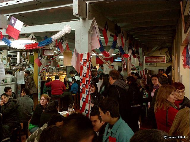 Las mejores y más tradicionales 'picadas' santiaguinas