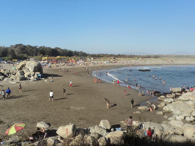 Ritoque: una de las más grandes playas de Viña del Mar