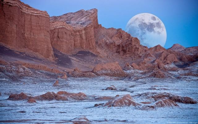 La experiencia de explorar los paisajes lunares del desierto de Atacama
