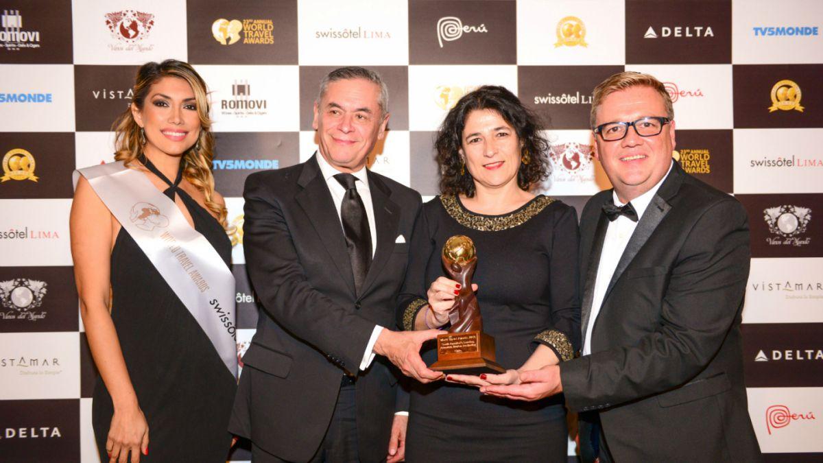 """Chile gana como mejor destino de turismo aventura en """"Premios Oscar"""" del Turismo"""