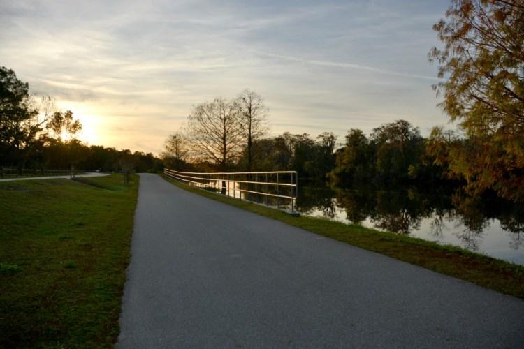 Ruta para montar bicicleta, Little Econ Greenway