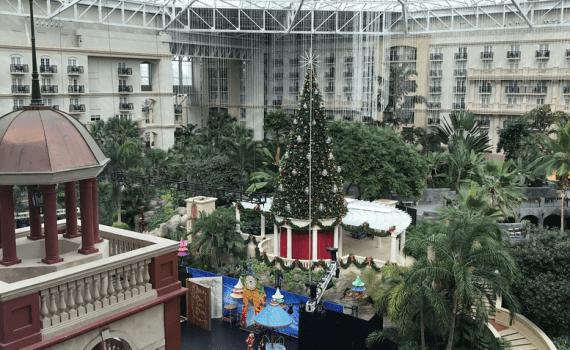 Navidad por lo alto en Gaylord Palms
