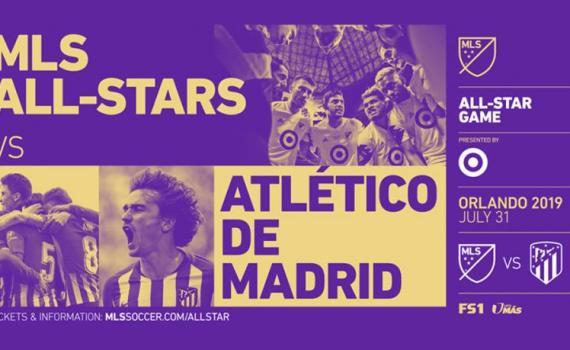Atlético Madrid frente al equipo de la MLS en el partido MLS All Star
