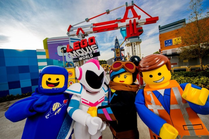 Lego Movie Days en Legoland Florida