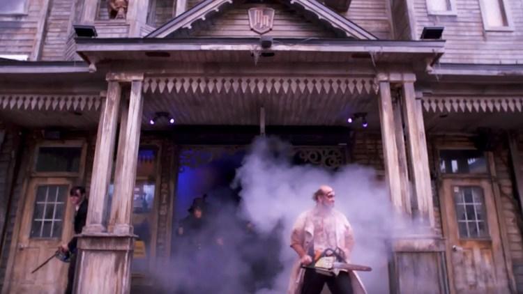 Mortem Manor casa embrujada atracción en Orlando