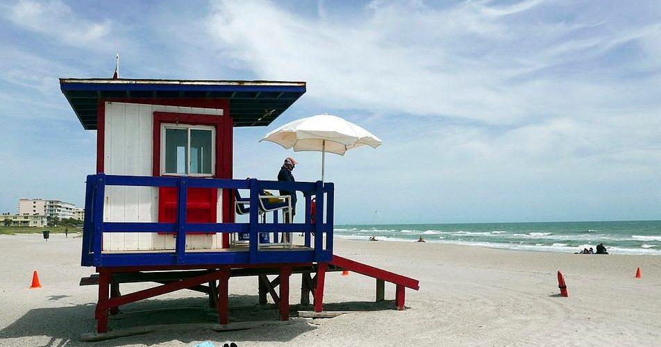Playas de Cocoa Beach, Abril 2020