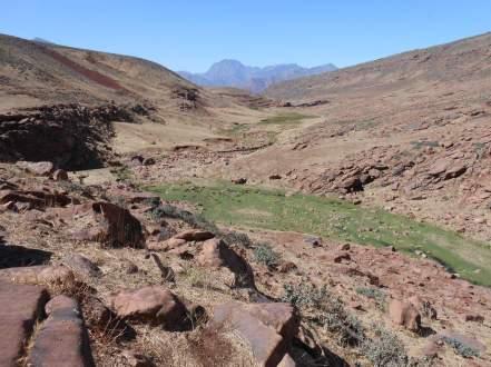 Situés au pied de l'Adrar Meltsene (3597m)