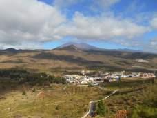 Vue de la crête vers le Teide et Santiago del Teide