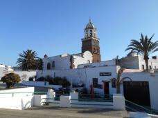 Vue sur l'église de Nuestra Señora de Guadalupe (Teguise)