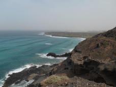 Vue sur la playa de la canteria (Orzola)