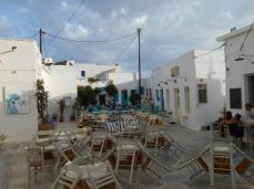 Place principale de Chora (Serifos)