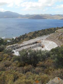 Ancien théâtre romain de Klima (Milos)