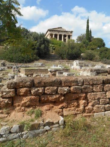 Ancienne Agora - Temple d'Hephaistos (Athènes)