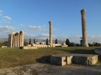 Temple de Zeus – l'Olympiéion (Athènes)