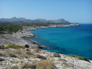 Chemin côtier n°17 depuis Cala Mesquida