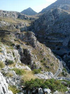 Route vers Sa Calobra