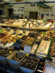 Marché aux poissons de Trouville
