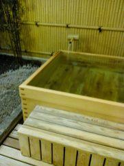Onsen - bain extérieur (Takayama)
