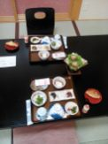 Petit-déjeuner japonais (Takayama)