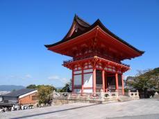 Porte Nio Mon - Temple de Kiyomizu-dera (Kyoto)