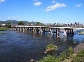 Pont Togetsukyo / Quartier d'Arashiyama (Kyoto)