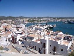 Vue des remparts - Eivissa (Ibiza)