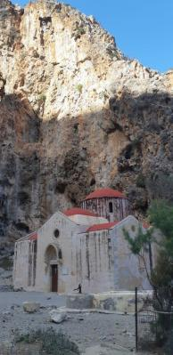 Gorges d'Agiofarango (Crète)