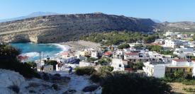 Vue sur Matala (Crète)