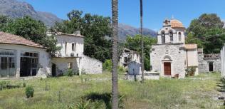Ancienne école d'agriculture de Moni Assomaton (Crète)