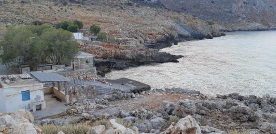 Crique d'Ombosgialos (Crète)
