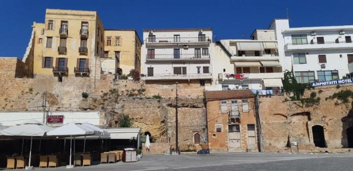 Remparts de Chania (Crète)