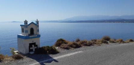 Sur la presqu'île de Rodopos (Crète)