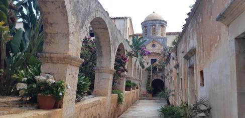 Monastère d'Agia Triada (Crète)