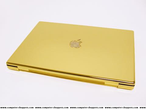 Gold Macbook Pro - la macbook pro de oro