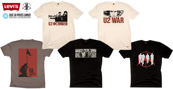 U2 + Levi's + Que la pases lindo!