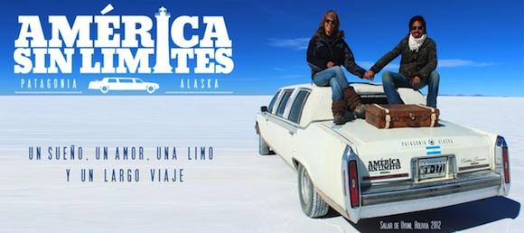 America sin limites: Un amor y un viaje en limusina