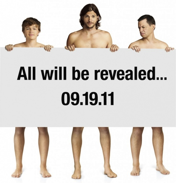 Poster de Ashton Kutcher en Two and a half men