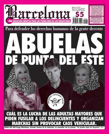 Abuelas de Punta del Este - Barcelona Noviembre 2009