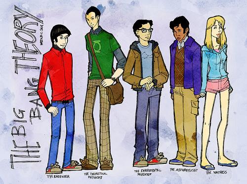 The Big Bang Theory Wallpaper Comic