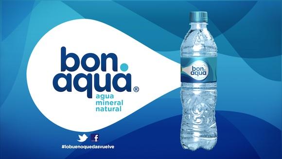 Bonaqua, el agua mineral natural de Coca-Cola