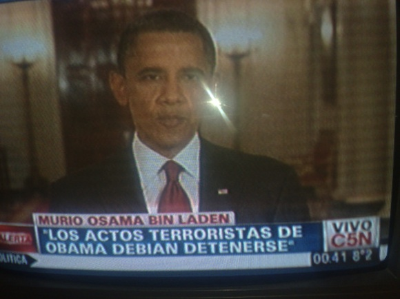 """""""Los actos terroristas de OBAMA debían detenerse"""""""