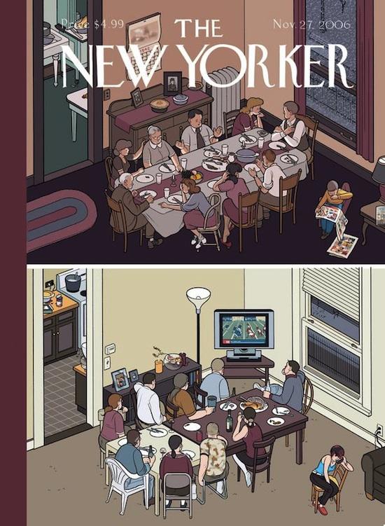 Cena familiar - The New Yorker