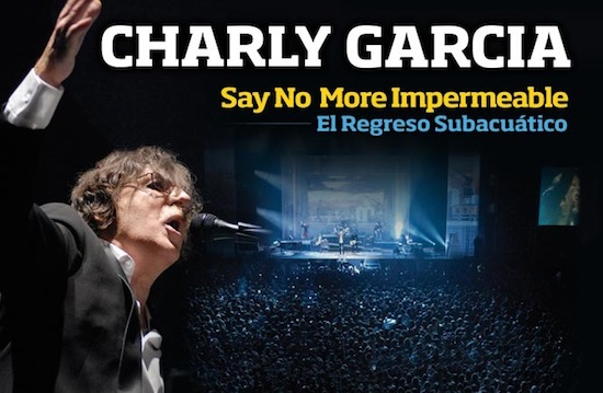 Charly Garcia en Velez, en DVD y Blu-ray