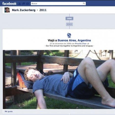 El creador de Facebook es hincha de Racing